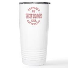Property of Kingdom University Travel Mug