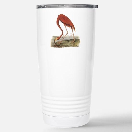 Flamingo Stainless Steel Travel Mug