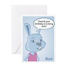 Burr Birthday Card