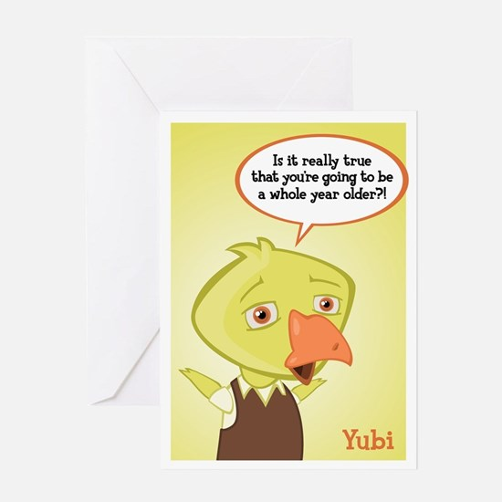 Yubi Birthday Card