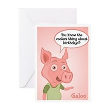 Galoo Birthday Card