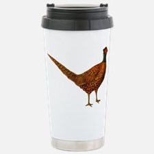 Pheasant Bird Stainless Steel Travel Mug