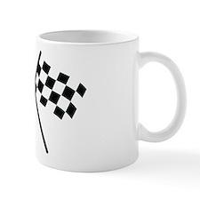 checker flag autorace Mug