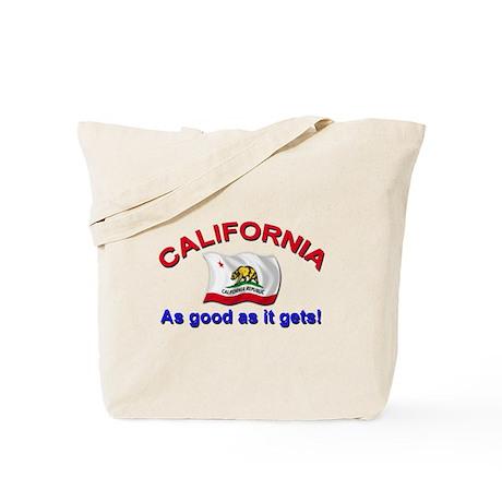 Califorrnia Good As Tote Bag