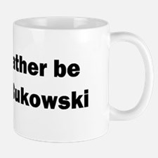 """I would rather be reading Bukowski"" Coffee Mug"