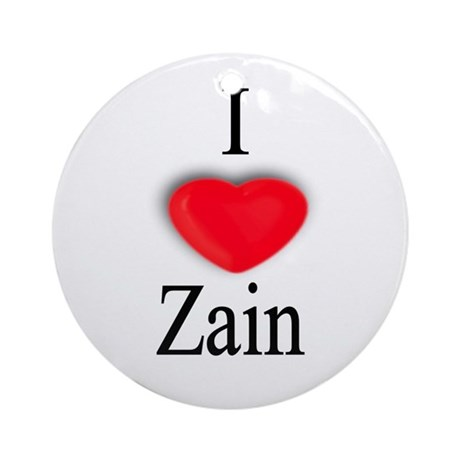 Zain Ornament (Round)