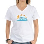 I'm a Keeper Women's V-Neck T-Shirt