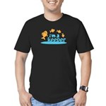 I'm a Keeper Men's Fitted T-Shirt (dark)
