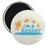"I'm a Keeper 2.25"" Magnet (100 pack)"
