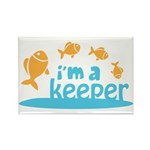 I'm a Keeper Rectangle Magnet (100 pack)