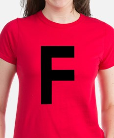 Letter F Tee