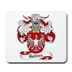 Galves Coat of Arms Mousepad