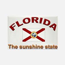 Florida Flag Rectangle Magnet