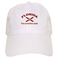 Florida Flag Baseball Cap