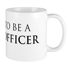 Proud Police Officer Small Mugs