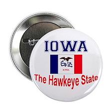 "Iowa Hawkeye 2.25"" Button"