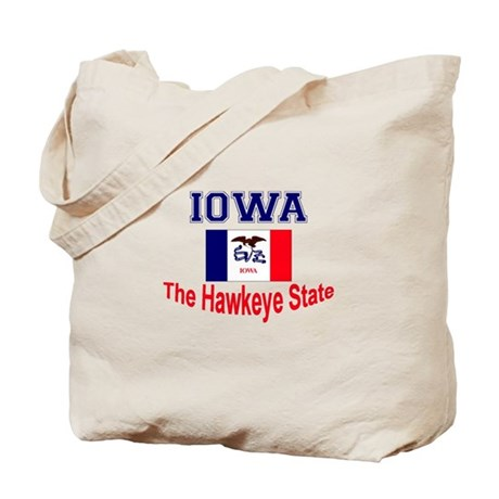 Iowa Hawkeye Tote Bag
