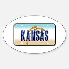 Kansas Oval Decal
