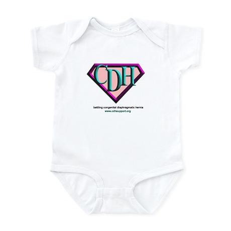 CDH Superhero Logo for Girls Infant Bodysuit