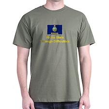 Kansas State Motto T-Shirt