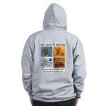 4 Seasons of Chained Dog Zip Hoodie
