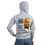4 Seasons of Chained Dog Women's Zip Hoodie