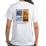 4 Seasons of Chained Dog White T-Shirt