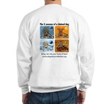 4 Seasons of Chained Dog Sweatshirt