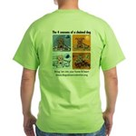 4 Seasons of Chained Dog Green T-Shirt