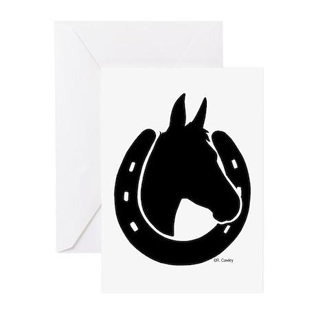 Mule Shoe Greeting Cards (Pk of 10)