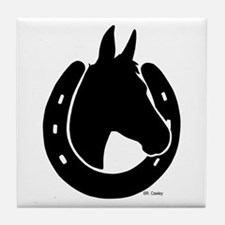 Mule Shoe Tile Coaster