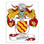 Gayola Coat of Arms Small Poster
