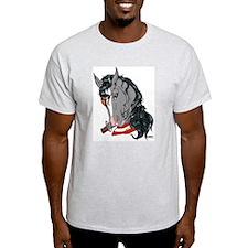 Pirate Horse Ash Grey T-Shirt