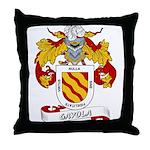 Gayola Coat of Arms Throw Pillow