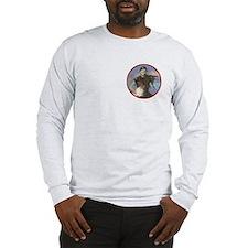 Googans Long Sleeve Men's T-Shirt (White)