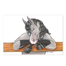 Horse Fence Postcards (Package of 8)