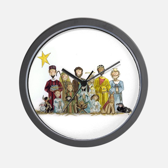 Unique Jesus picture Wall Clock