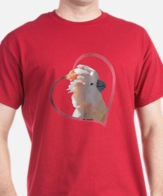 M Cockatoo Heart Line T-Shirt