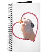 M Cockatoo Heart Line Journal