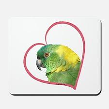 YN Amazon Heart Line Mousepad