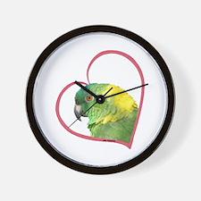 YN Amazon Heart Line Wall Clock
