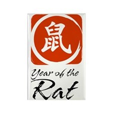 Year of the Rat Rectangle Magnet