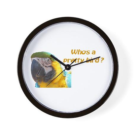 BGM Pretty Bird Wall Clock