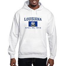 Louisiana State Flag Hoodie