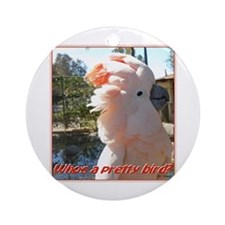 Pretty Bird Ornament (Round)