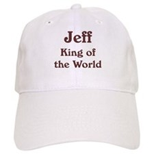 Personalized Jeff Baseball Cap