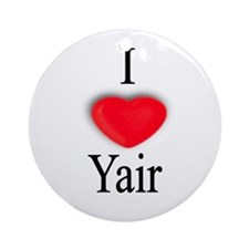 Yair Ornament (Round)