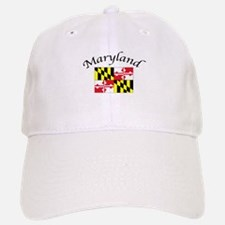 Maryland State Flag Baseball Baseball Cap