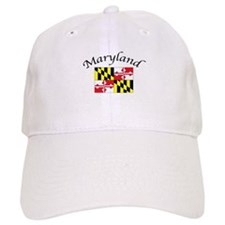 Maryland State Flag Baseball Cap