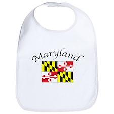 Maryland State Flag Bib